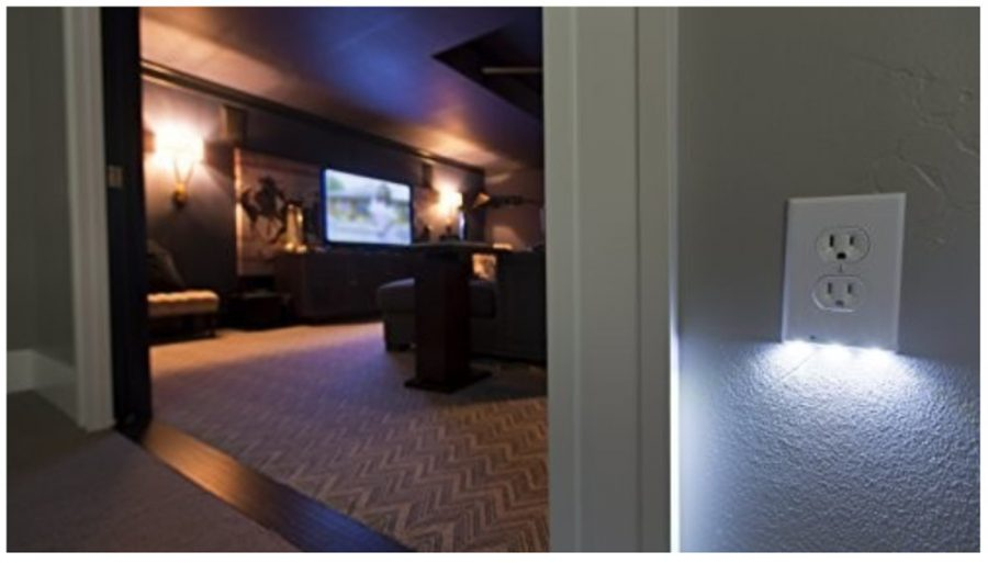 LED WALL PLATE NIGHT LIGHT/GUIDELIGHT